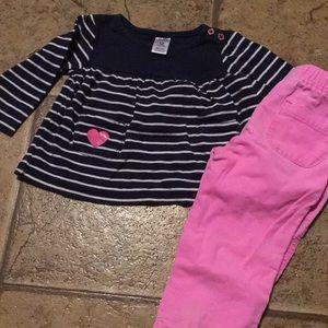 Shirt and pant set
